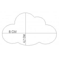 Marque Place pied de verre nuage