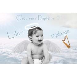 """Faire Part """"Petit Ange"""""""