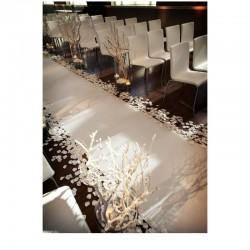 Pétales de roses en soie Blanc lot de 200