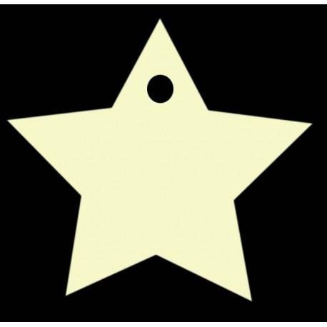 étiquette dragées étoile