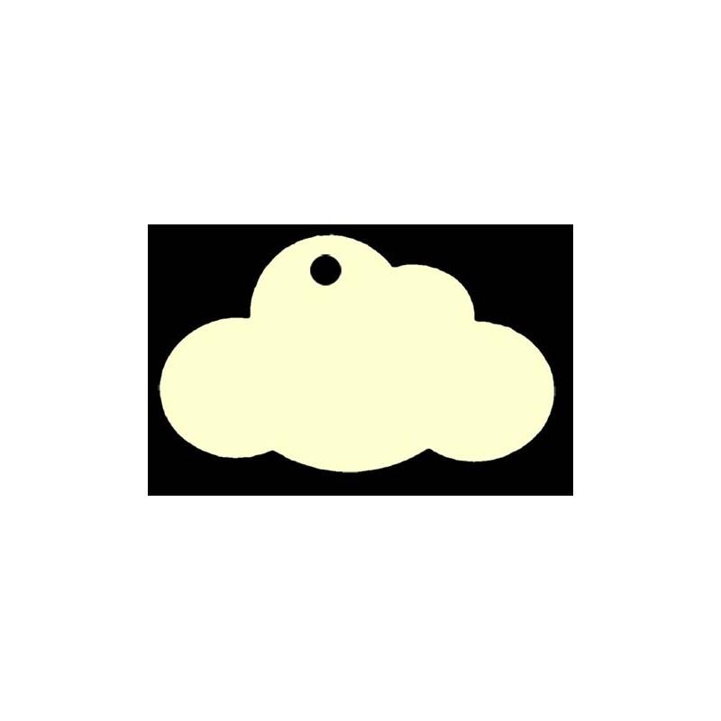 étiquette dragées nuage